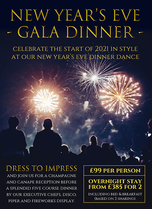 New Year's Eve Gala at Lynford Hall